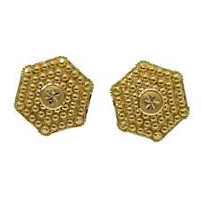 stylish gold earrings stylish gold earrings minal palace manufacturer in zaveri