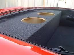 c6 corvette sub box for 2005 2013 chevy corvette c6 custom sub box subwoofer speaker