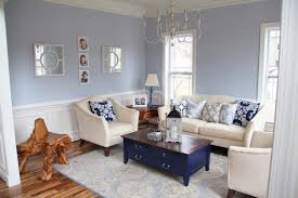 living rooms painted blue country style wooden wall plank black