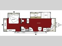 Outback Campers Floor Plans Another One Of Our Favorite Travel Trailer Floor Plans Double