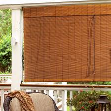 roll up blinds for patio