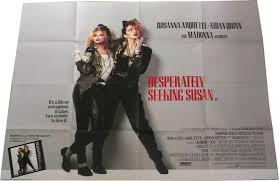Seeking Uk Desperately Seeking Susan Uk Official Cinema Poster