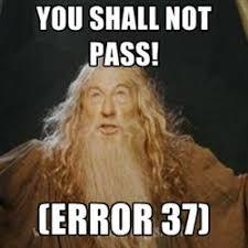 Meme Knowledge - error37 explained 10 best memes mweb gamezone