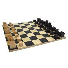 chess set designs top3 by design naef bauhaus chess set board