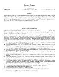 Quality Control Sample Resume by Christian Service Resume