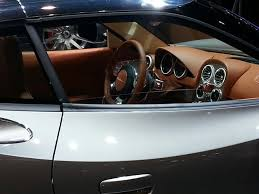 spyker interior spyker b6 venator concept makes its world premiere