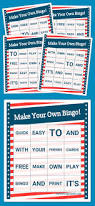 Make Own Cards Free - the 25 best free printable bingo cards ideas on pinterest