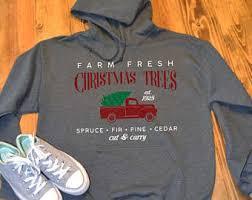 christmas hoodie etsy