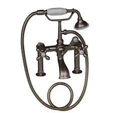designs wondrous 3 handle faucet tub and shower 42 pegasus