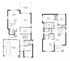 nice two story houses house plan 2 storey house plan with measurement design a plans for
