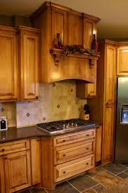kitchen honey oak kitchen cabinets with granite countertops