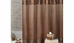 chocolate brown bathroom ideas shower compelling shower curtain brown tree bright hookless
