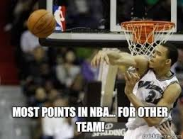 Javale Mcgee Memes - most points in nba for other team javale mcgee stupidity