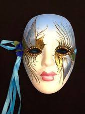 ceramic mardi gras masks for sale mardi gras mask ceramic ebay