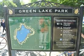 seattle map green lake green lake park