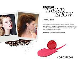 beauty hair and makeup trend shows at nordstrom s in dc md va