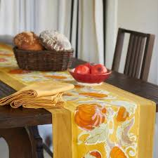 thanksgiving tablecloths accessories couleurnature