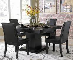 wood dining room sets black wood dining room set glamorous decor ideas marvelous design