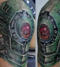 amazing biomechanical tattoos tattoo apprenticeship miami