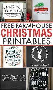 Christmas Table Decoration Printables by Best 25 Christmas Printables Ideas On Pinterest Farmhouse