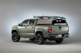 chevy colorado green this custom chevy colorado from hurley is the ultimate surfing