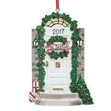 personalized front door ornament ornament kimball