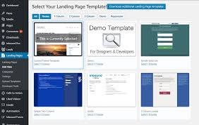 wordpress landing pages u2014 wordpress plugins