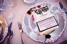 wedding plate settings top pic silver place setting bridal banter