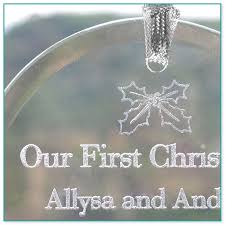 etched glass ornaments personalized etched glass ornaments personalized