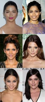 triangle and rectangular face hairstyle female how to figure out your face shape in 4 steps beautyeditor
