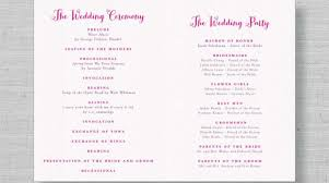 wedding reception programs inspiring wedding reception outline 19 photo diy wedding 4828