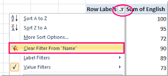 Sort A Pivot Table How To Filter Top 10 Items In Pivot Table