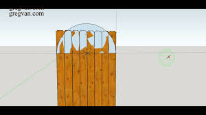 Interior Gates Home How To Make Three Different Types Of Curved Designs For Top Wood