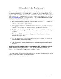 sample invitation letter for visa sample invitation letter for us visa family wedding invitation