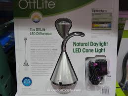 Ottlite Desk Lamp With Colour Base by Ottlite Natural Daylight Led Cone Desk Lamp