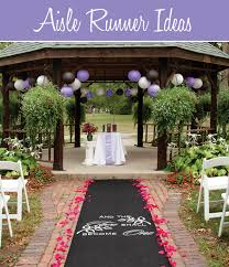 outdoor wedding aisle runner ideas best decoration ideas for you
