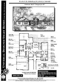 home design 6 x 20 universal design house