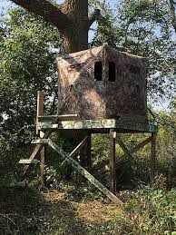 Hunting Ground Blinds On Sale Anyone Make A Platform For Pop Up Blind