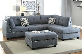 gray sectional with ottoman grey sectional with ottoman grey reversible chaise sectional sofa