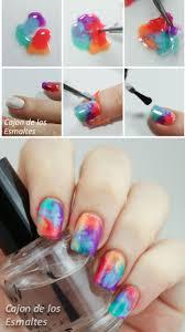 15 amazing step by step nail tutorials water images diy nails