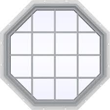 Octagon Window Curtains Wellcraft 2060 090 Gray Granite Window Well 020600190 The Home Depot