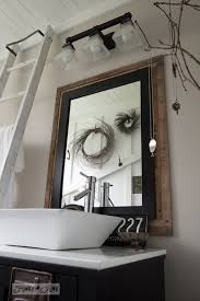 Salvage Bathroom Vanity by Reclaimed Wood Bathroom Mirror Smart Idea Reclaimed Wood Vanity