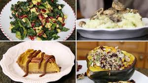 thanksgiving vegetarian menu 5 thanksgiving vegan dinner recipes youtube