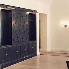 Media Cabinets With Doors Navy Blue Cabinets With Pattern Sliding Doors Concealing