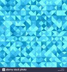 light blue triangle mosaic background design stock vector art