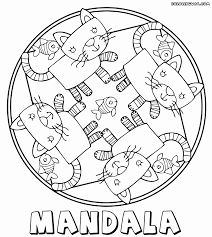 mandala coloring pages for kids coloring pages to download and print