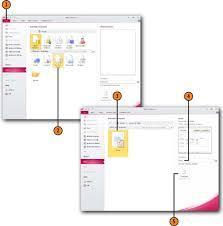 microsoft access 2010 creating databases using database