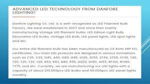 danfore led bulbs u0026 home lighting system