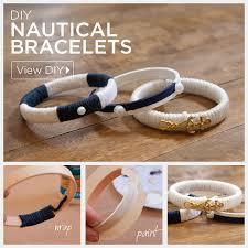 bracelet diy tutorials images Nautical bracelets diy by trinkets in bloom jpg