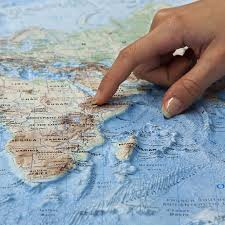 World Map With Mountain Ranges by Relief Maps Our Relief Maps World Relief Maps